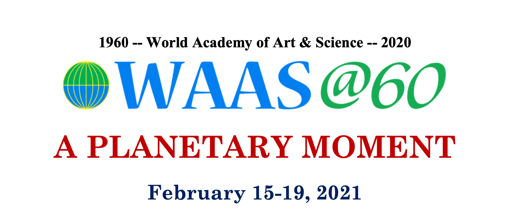 WAAS 60th Anniversary General Assembly